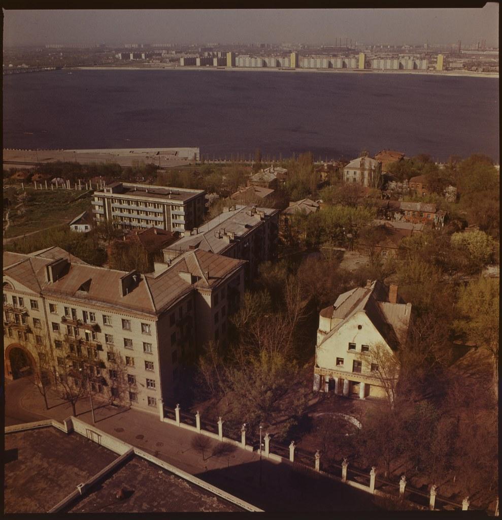 фото: Панорама с крыши Агроуниверситета - ORWO K03 6x6 FS4000 [Чубаров Э.П.]