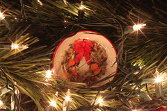 Mini Wreath Plate (Baking is my Zen) Tags: miniwreathplate christmas christmas2019 holiday holiday2019 canonrebelt1i lowkey lookingcloseonfriday