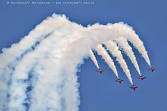 6356 Enid (photozone72) Tags: raf rafat redarrows reds redwhiteblue smoke aerobatics aerobatic jets hawk aviation aircraft canon canon7dmk2 canon100400f4556lii 7dmk2