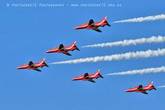 6319 Enid (photozone72) Tags: raf rafat redarrows reds redwhiteblue smoke aerobatics aerobatic jets hawk aviation aircraft canon canon7dmk2 canon100400f4556lii 7dmk2