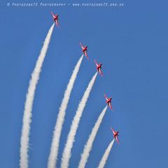 6313 Enid (photozone72) Tags: raf rafat redarrows reds redwhiteblue smoke aerobatics aerobatic jets hawk aviation aircraft canon canon7dmk2 canon100400f4556lii 7dmk2