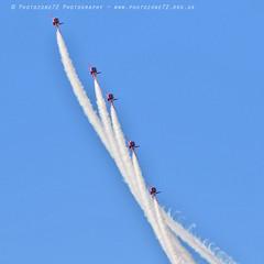 6311 Enid (photozone72) Tags: raf rafat redarrows reds redwhiteblue smoke aerobatics aerobatic jets hawk aviation aircraft canon canon7dmk2 canon100400f4556lii 7dmk2