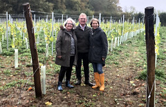 Ritsa, Gary and Kathy (RobW_) Tags: ritsa gary kathy jordan mousehall vineyard wadhurst east sussex england friday 01nov2019 november 2019