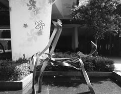 ''A One and A Two'' by Zhang Yu (Miranda Ruiter) Tags: sculpture art kunst publicart photography streetphotography hongkong shatin blackandwhite zhangyu