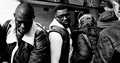 Tight squeeze! (Baz 120) Tags: candid candidstreet candidportrait city contrast street streetphoto streetcandid streetportrait strangers rome roma ricohgrii women europe monochrome monotone mono noiretblanc bw blackandwhite urban life portrait people provoke italy italia grittystreetphotography faces decisivemoment