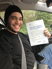 Massive congratulations  to Aaron Ramos passing his driving test on his first attempt!    www.leosdrivingschool.com  WARNING: Getting your license is a good achievement however being a SAFE driver for life is the biggest achievement!