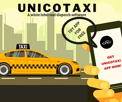 Taxi Booking System (UnicoTaxi) Tags: smart dispatch solution taxi booking software uber clone app unicotaxi