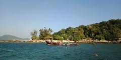 The Last Boat Home (Dawn in Phuket, Thailand) Tags: island seascape boat holiday travel phuket