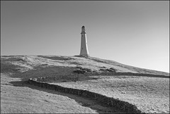Photo of Monument on Hoad Hill ir