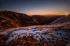 Balade matinal (Manonlemagnion) Tags: nature paysage hohneck vosges crête neige froid soleil montagnes grandangle nikond810 1635mmf4
