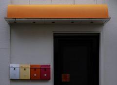 colorful.stylish. (hiko1625) Tags: fujifilm xpro2 xf35mmf14 japan japanese snap スナップ mailbox post hiroshima onomichi ポスト 広島 尾道 カラフル