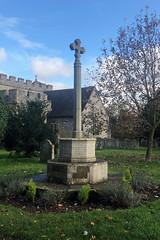 Memorial (RobW_) Tags: memorial st marys church chilham kent england tuesday 05nov2019 november 2019
