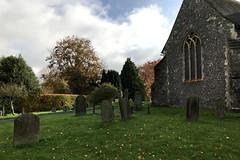 Churchyard (RobW_) Tags: church yard stmarys chilham kent england tuesday 05nov2019 november 2019