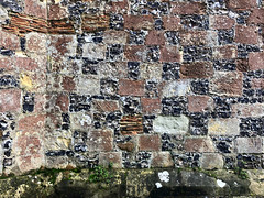 Wall Detail (RobW_) Tags: wall detail stmarys church chilham kent england tuesday 05nov2019 november 2019