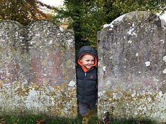 Cheeky Face (RobW_) Tags: calvin gravestones stmarys church chilham kent england tuesday 05nov2019 november 2019