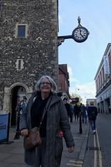 Under the Clock (RobW_) Tags: ritsa clock canterbury kent england wednesday 06nov2019 november 2019