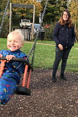Swinging (RobW_) Tags: november smiling wednesday kent canterbury calvin swinging natasha 06nov2019 2019 england