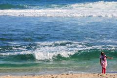 MAURITIUS St. Felix IV (stega60) Tags: mauritius ilemaurice plage playa stfelix beach wave waves children red blue stega60