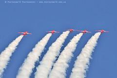 6348 Enid (photozone72) Tags: raf rafat redarrows reds redwhiteblue smoke aerobatics aerobatic jets hawk aviation aircraft canon canon7dmk2 canon100400f4556lii 7dmk2
