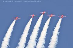 6346 Enid (photozone72) Tags: raf rafat redarrows reds redwhiteblue smoke aerobatics aerobatic jets hawk aviation aircraft canon canon7dmk2 canon100400f4556lii 7dmk2