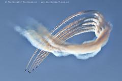 6308 Enid (photozone72) Tags: raf rafat redarrows reds redwhiteblue smoke aerobatics aerobatic jets hawk aviation aircraft canon canon7dmk2 canon100400f4556lii 7dmk2
