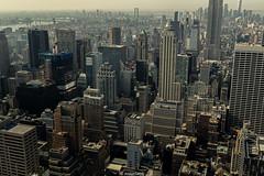 Manhattan, New York (josysh) Tags: ny nyc newyork newyorkcity northamerica usa manhattan empire state building city skyscrapper architecture contemporary top rock midtown landscape urban concrete