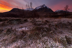 Peaky Blinders (Explored) (Griff~ography) Tags: glencoe buachailleetivemor scotland winter landscape mountains peaks snow frost dawn sunrise