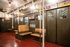 R1 Car 381 (wanderinginsomnia) Tags: usa manhattan holidaytrain nostalgiatrain newyork americancarandfoundrycompany r1 subway newyorkcity newyorktransitmuseum