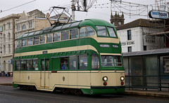 Photo of Trams: Blackpool Transport: 717 North Pier