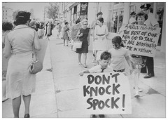 Women protest draft conspiracy sentencing: 1968 (Washington Area Spark) Tags: protest demonstration rally picket march women's strike for peace selective service draft benjamin spock conspiracy trial conviction sentence prison jail washington dc district columbia 1968