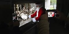 Nikolaustag (Michael Döring) Tags: gelsenkirchen bismarck zoomerlebniswelt zoo winterspecial nikolaus rentiere afs2470mm28g d850 michaeldöring