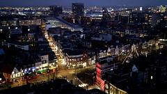 GRONINGEN, THE NETHERLANDS (pwitterholt) Tags: groningen christmas kerst kerstsfeer kerstverlichting kerstgevoel kersttijd avond evening eveninglight uitzicht view forum town stad canon canoneosm3