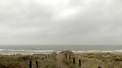Today, Vlieland (bramwillemse) Tags: vlieland noordzee north sea wadden island waddeneiland beach strand rain grey weather dunes