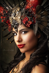 The seductive devil (Moments by Xag) Tags: devil devilish model modelo mujer mirada morena diablo diablesa woman glamour girl glance goddess diosa portrait posado pretty colombiana colombian fashion fantasy fantasia sexy sesion xag xagstyle momentsbyxag