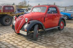Es muss nicht immer ein SUV sein (wolf238) Tags: fiat topolino mäuschen auto cabrio italien