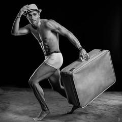 Boris - Sous-vêtement (J2L Photos) Tags: studio shooting borishébert bw man sexy underwear nb homme sousvêtement