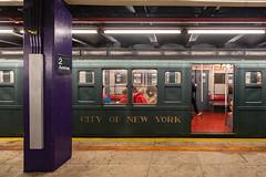 R6-1 Car 1300 (wanderinginsomnia) Tags: usa manhattan holidaytrain nostalgiatrain pressedsteelcarcompany newyork r6 r61 subway newyorkcity newyorktransitmuseum