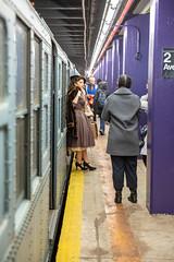 Holiday Nostalgia Train (wanderinginsomnia) Tags: newyorkcity usa newyork subway nostalgiatrain manhattan newyorktransitmuseum holidaytrain