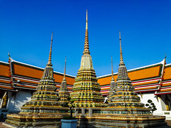 Wat Pho is one of beautiful temple in Thailand (Jrwanderer) Tags: