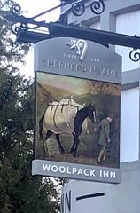 Pub Sign (RobW_) Tags: pub sign woolpack inn chilham kent england tuesday 05nov2019 november 2019