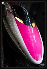 "11ème jour / 11th day - Le ""Hello Kitty"" est à quai The ""Hello Kitty"" is at the dock - Hiroshima (christian_lemale) Tags: hiroshima gare station shinkansen train japon japan nikon d7100 広島 日本 hellokitty"