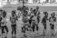 Cuba, Havana (Plaza Vieja) -2019 (Cornelis photographer / author) Tags: cuba habana havana zwartwit blackandwhite schwarzweiss children class school plazavieja