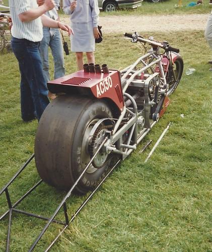 Alfa Nord engined drag bike