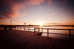 Cold Morning (kuestenkind) Tags: sunrise sonnenaufgang förde kiel sonne ostsee balticsea langzeitbelichtung kalt cold canon 6d 60sec longexposure schleswigholstein norddeutschland northgermany