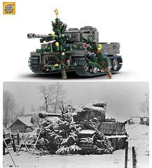 Merry Christmas! (BuildArmy) Tags: tiger1 ww2 worldwar2 lego brick legomoc tank legotank history buildarmy