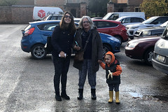 Natasha, Ritsa and Calvin (RobW_) Tags: natasha ritsa calvin chilham kent england tuesday 05nov2019 november 2019