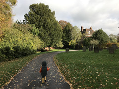Little Boy on the Path (RobW_) Tags: calvin path chilham kent england tuesday 05nov2019 november 2019