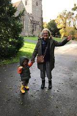 Calvin and Ritsa (RobW_) Tags: calvin ritsa stmarys church chilham kent england tuesday 05nov2019 november 2019