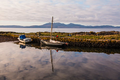 Portencross Harbour (Briantc) Tags: scotland ayrshire northayrshire portencross westkilbride firthofclyde clyde harbour reflections arran