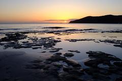Salinas Ibiza (LorenzoGiunchi) Tags: reflection sun clouds sunset sky sea beach ibiza